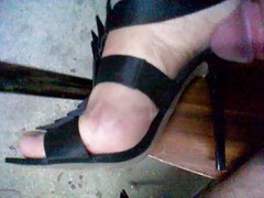 Heels, Teen crossdresser high heels