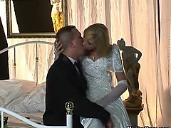 Wedding, Cuckold bride