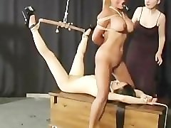 Bondage, Slave, Doll, Turned into lesbian slave doll