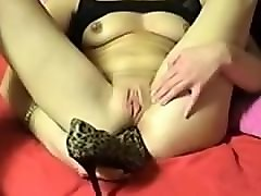 Amateur, Heels, Insertion, Sissy in high heels fucked by wife