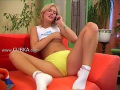 Blonde, Czech, Dildo, Blondy mom fucked hot blonde milf fucks a young stud hard_00 watch more free
