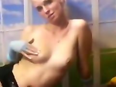 Ass, Daughter give blowjob to step dad
