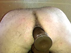 Anal, Dildo, Squirting dildo anal creampie shemale