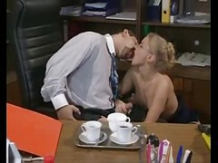 Glasses, Ass, Secretary, Secretaries suck dick and the manager hardcore fucked