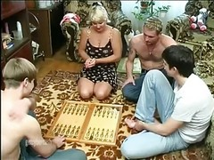 Gangbang, Wife, Mature, Wife switch