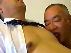 Old Man, Japanese old man massage