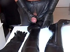 Leather, Humiliation in leather pants