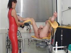 Latex, Milk, Femdom, Ass, Japanese mother and daughter