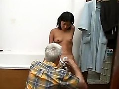 Bath, Bathroom, Teen, Asian fuck in bathroom