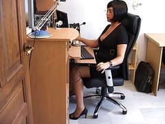 Drunk, Secretary, Milf, Bride drunk