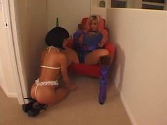 Bdsm, Domination, Lesbian, Strapon, Dominic wolfe