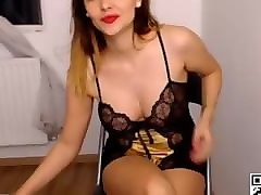 Squirt, Chubby webcam solo squirt