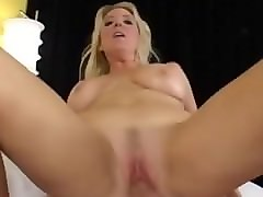 Blonde, Straight guy fucks his first tranny
