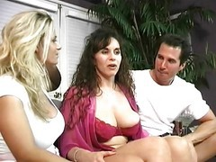 Classic, Ass, Milf, Threesome, Young japanese threesome uncensored
