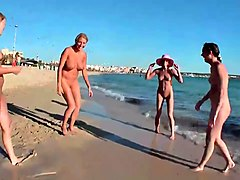 Beach, Rus public flash contact girls passion on beach