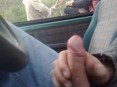 Car, Masturbation, Masturbation on public