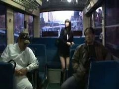 Asian, Bus, Gangbang, Japanese, Gonzo xxx japanese daughter in law