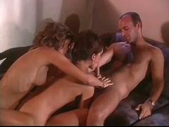 British, Milf, Threesome, Gay daddy marco threesome