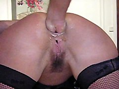 Anal, Bottle, Fisting, Insertion, Indian old man with blonde girl