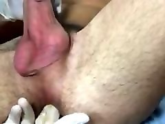 Huge anal insertions