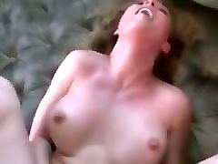Blonde, Cute, Asian wife blowjob and fuck