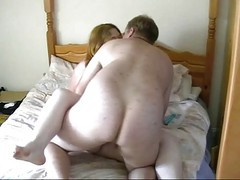 Riding, Girlfriend, Bbw, Fat, Homemade natural tit ex girlfriend sensual blowjob