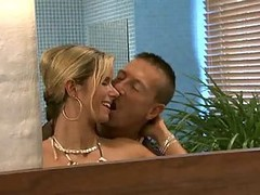 Bath, Bathroom, German, Couple, Rough sex for swinging couples
