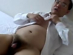 Old Man, Japanese old man sleeping wife fucked with other one