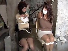 Gagging, Tied, Girls tied and gagged