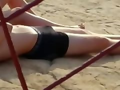 Beach, Spy, Drugged indian aunty fucked while drunk