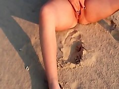 Beach, Girlfriend, Anal ex-girlfriend