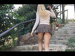 Panties, Upskirt, Mom upskirt hidden camera no panties