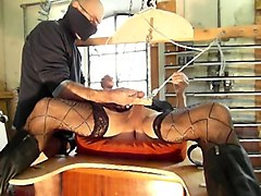 Needle, Femdom fuck machine guy male slave