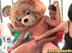 Babe, Party, Office birthday party complete with strippers - dancing bear orgy download
