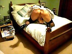 French, Crossdresser, Maid, Dress, Bisexual in uniform orgy