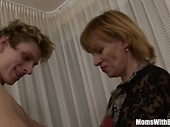 Blonde, Teen, Mexican milf fucked by husband friends