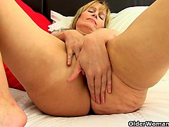 British, Clit, Milf, Strip, Danica collins solo strip and talk