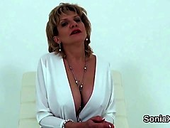 Milf, Lady sonia with tranny