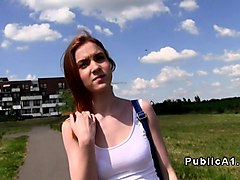 Student, Redhead, Wife fuck in travel bussines