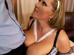 Maid, Flower tucci and olivia o lovely in hotel maid