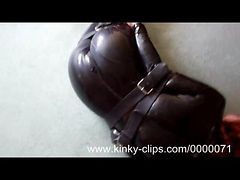 Leather, Latex, Tight, Flashing webcam