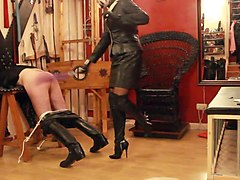 Boots, Leather, Leather mmf