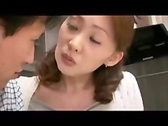 Japanese mom and son fuck.