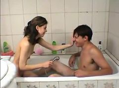Bath, Teen, Cute, Bathing free porn