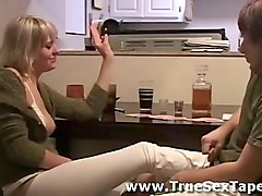 Amateur, Couple, Russian drunk abused
