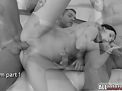 Anal, Creampie, Gangbang creampies hd