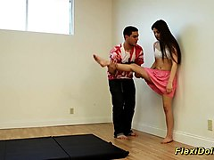 Teen, Flexible, Doll, Riley reid slave