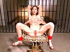 Tied, Super flexible sensi pearl gets tied up and fucked