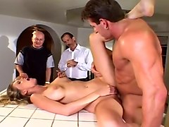 Wife, Old Man, Amatuer sextape with slutty wife getting a facial