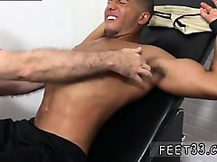 Black, Teen, Gay male jock foot fantasy tickle